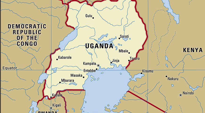 Uganda-map-boundaries-cities-locator